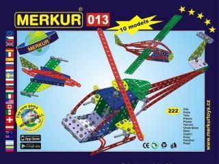 Merkur 013 Vrtulník 222 dílů, 10 modelů [HRAČKA]